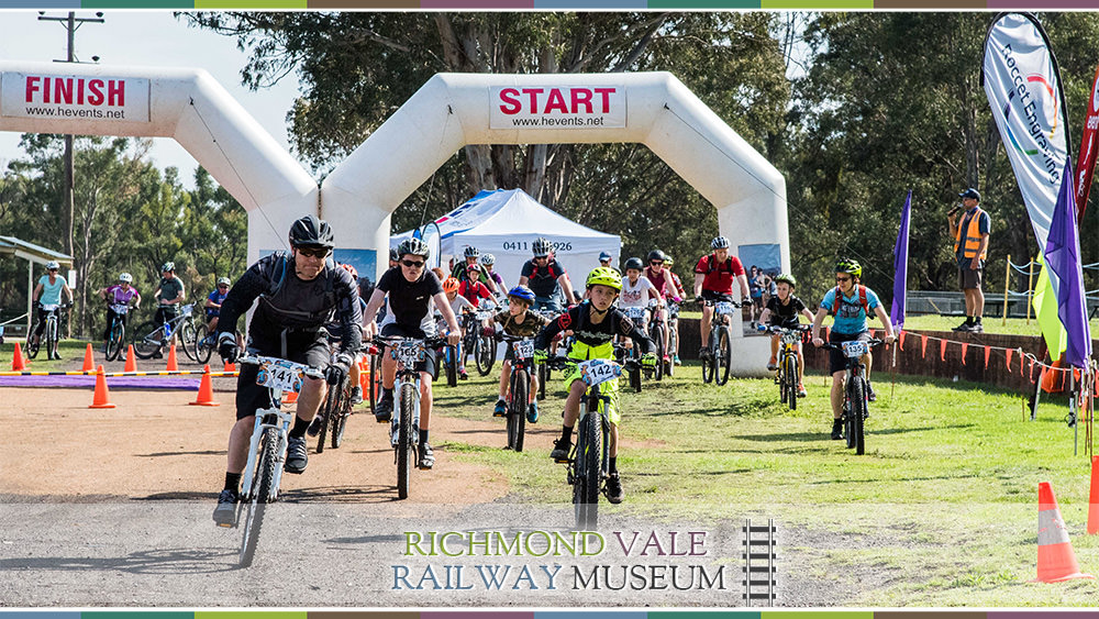 Mongrel Classic Mountain Bike Event Hunter Valley Richmond Vale Railway Museum Hosts